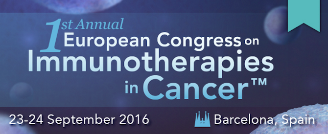 1st Annual Congress in Immunotherapies in Cancer™