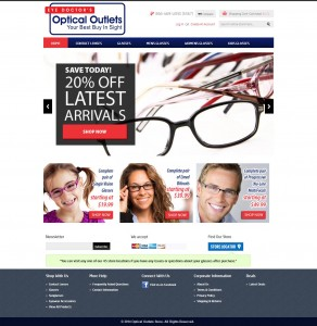 Eye Glass Magento Ecommerce Store