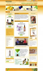 Skin Products Magento Ecommerce Store