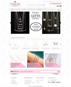 Online Jewellary Magento Ecommerce Store