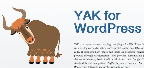 yak fro wordpress