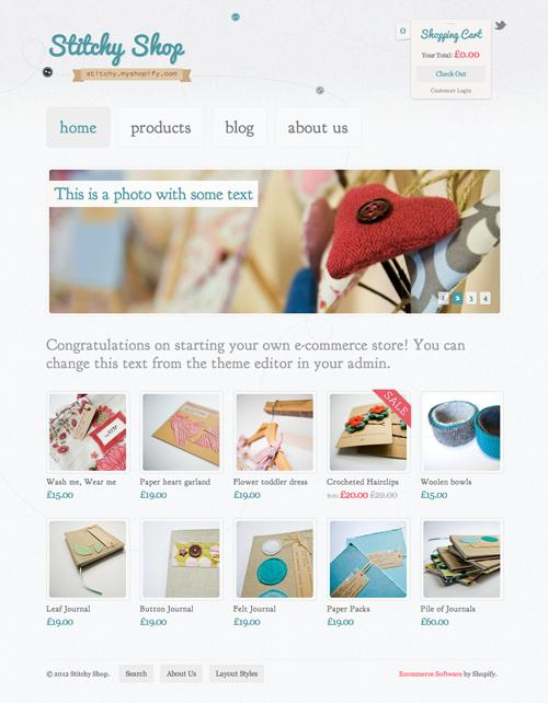 Shopify Themes for your Online Store - slithy