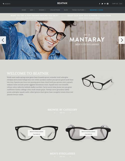 Shopify Themes for your Online Store - symmetry
