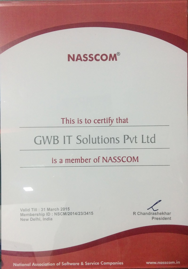 Gowebbaby Nasscom Certify