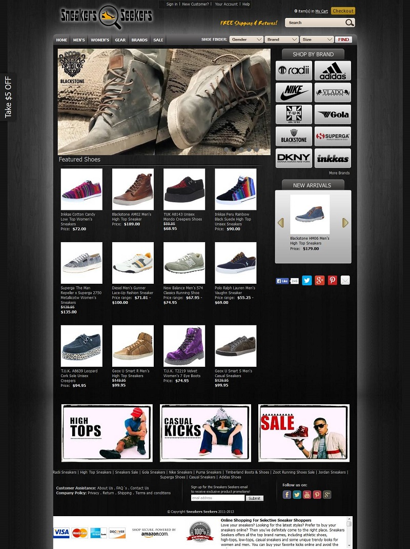 Responsive Mobile Store Amazon webstore