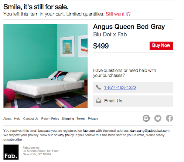 boost sales in e-commerce business- queen bed