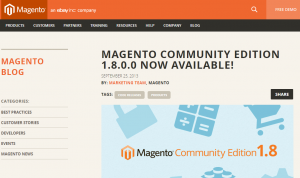 small ecommerce business - Magento community