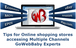 Online shopping stores accessing Multiple Channels