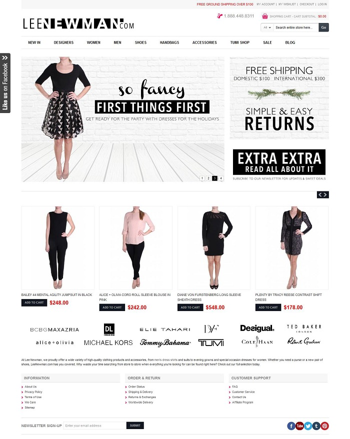 Online Fashion Ecommerce Store Magento