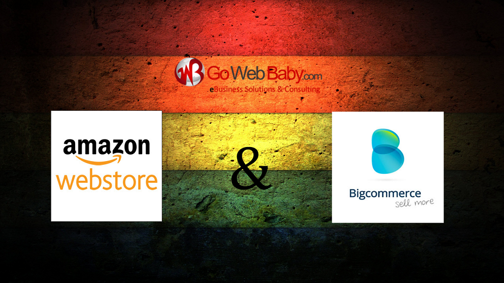 Amazon webstore and Bigcommerce