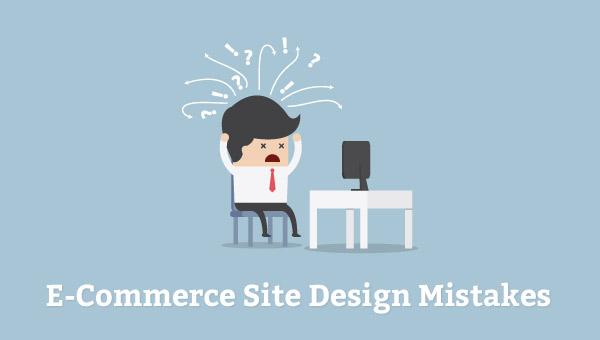 ecommerce designing mistakes