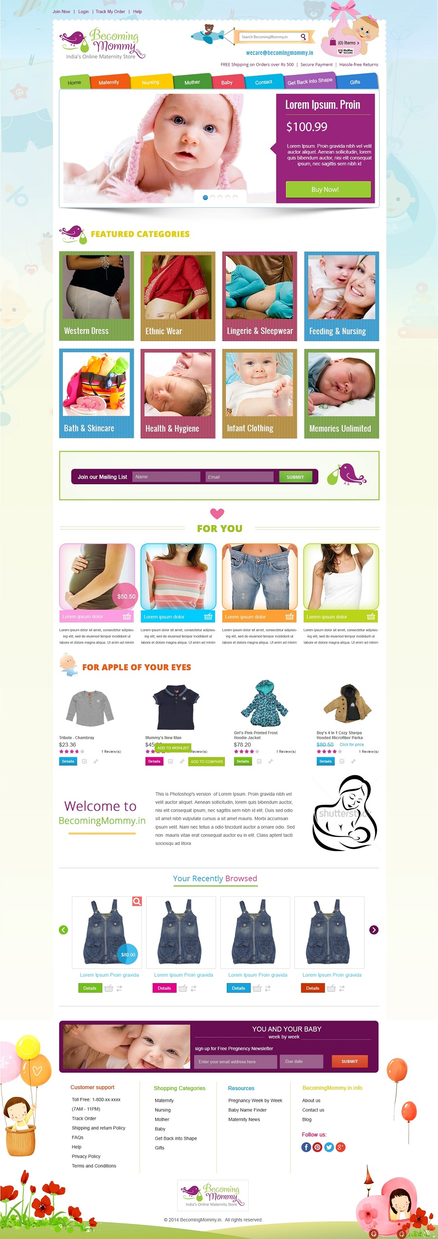 Custom Design Shopify Templates