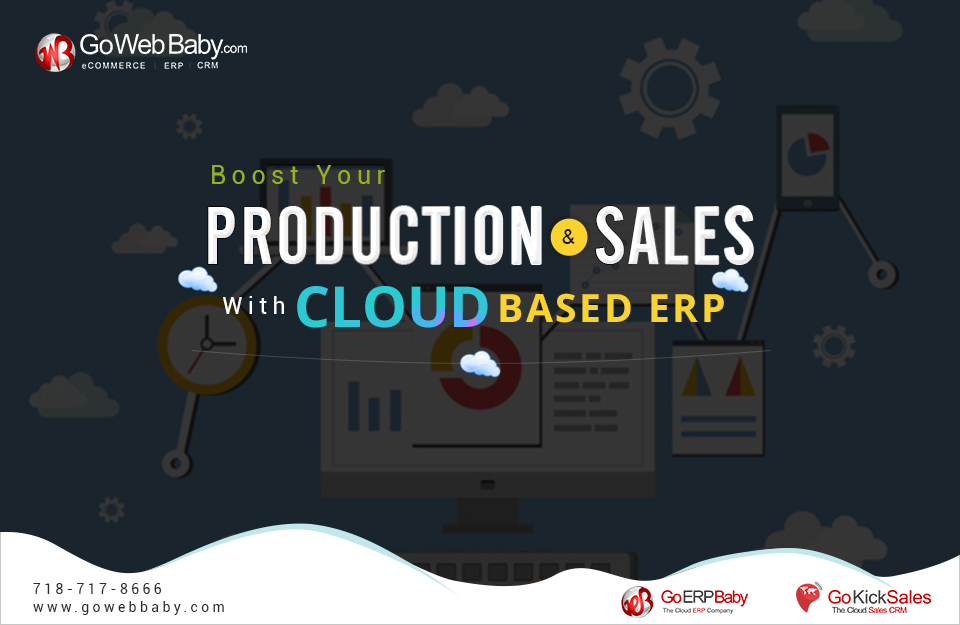 Boost your production and sales with Cloud Based ERP