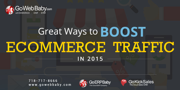 Ways to amplify Ecommerce Traffic