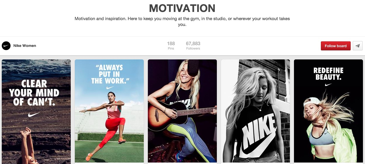 Motivational Ecommerce Examples