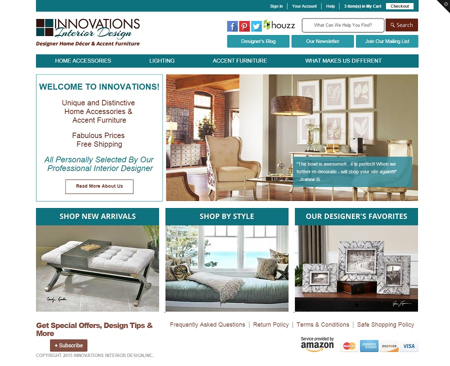 Shopify Theme Interior Designer