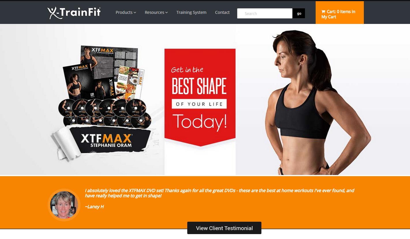 shopify retailer - Xtrainfit