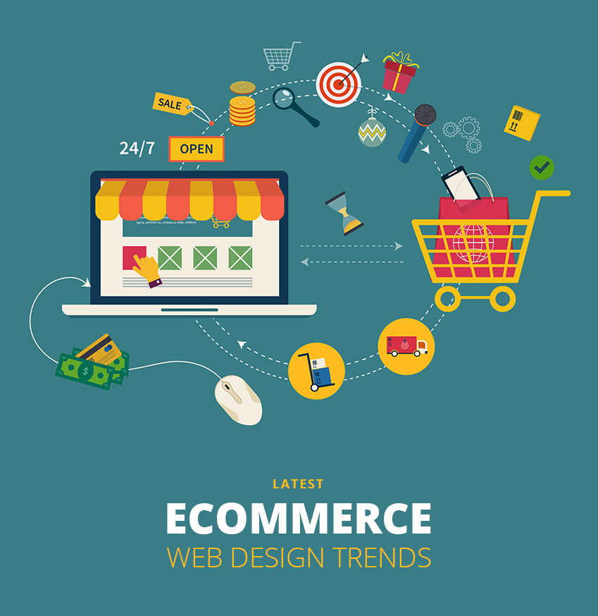 6 Latest Trends in eCommerce Web Designing