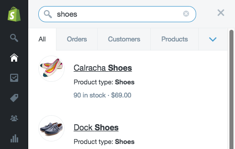 Dig through Your Store with Admin Search