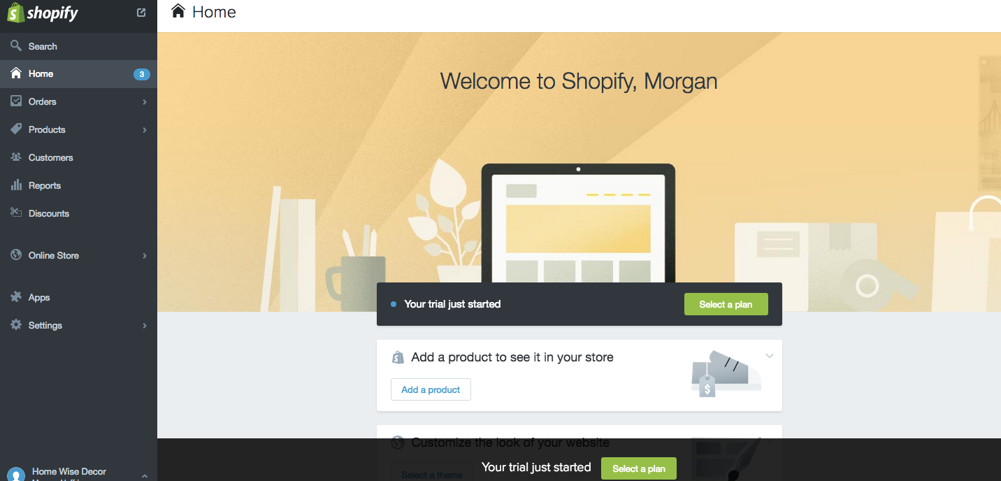 Handy features of Shopify