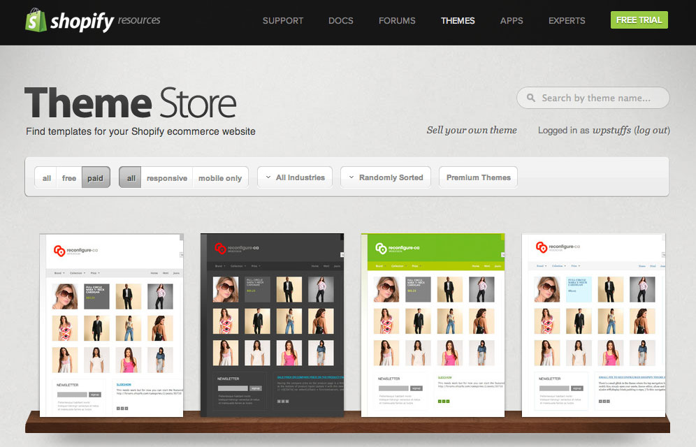 How to choose the best theme for shopify store