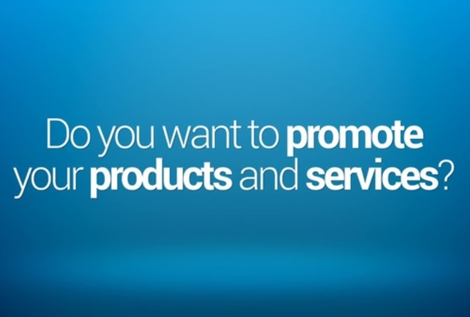 Promote the products of your shopify store