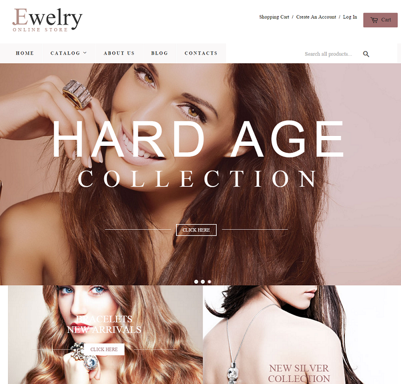 Shopify Theme for Jewelry