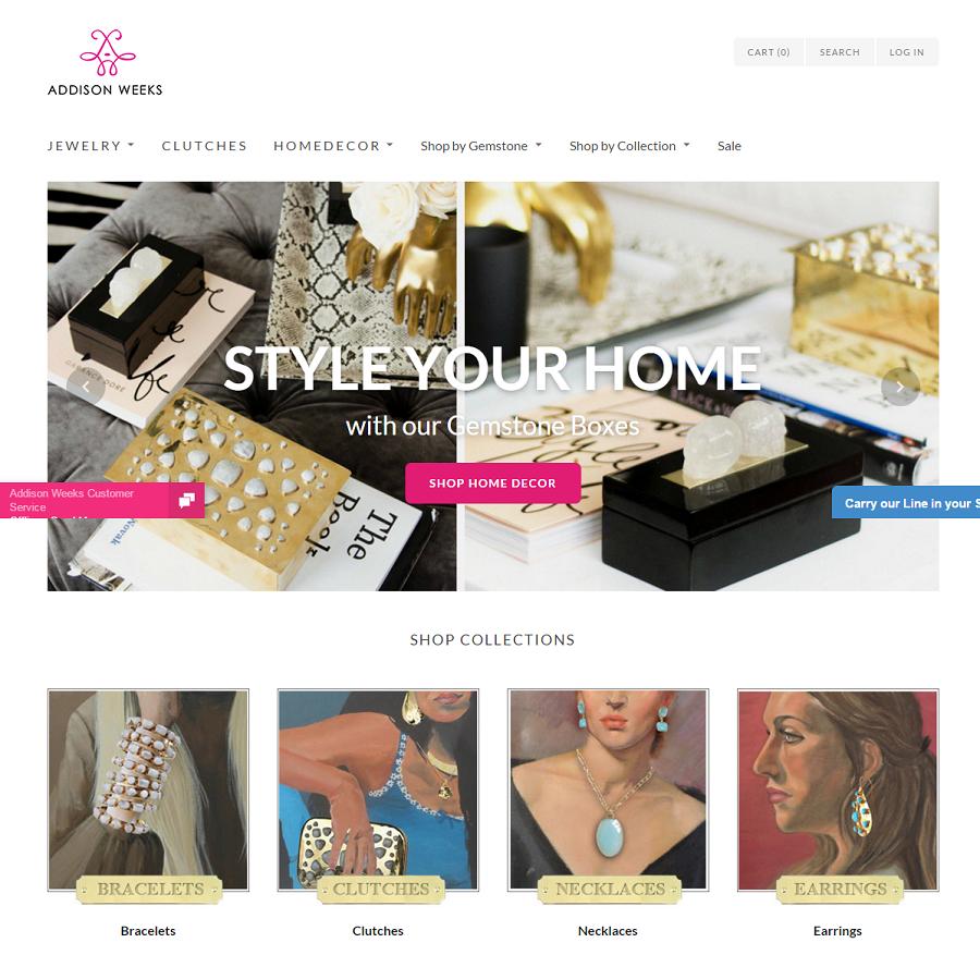 Addison Weeks Online Store