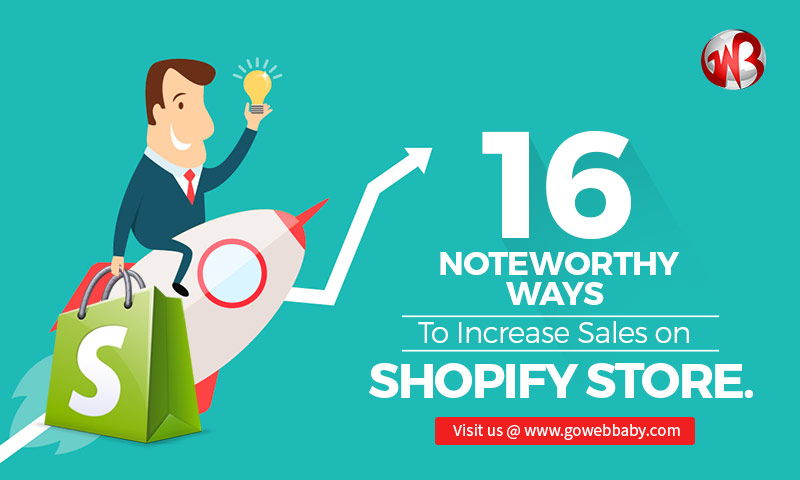 Increase Sales On Shopify Store