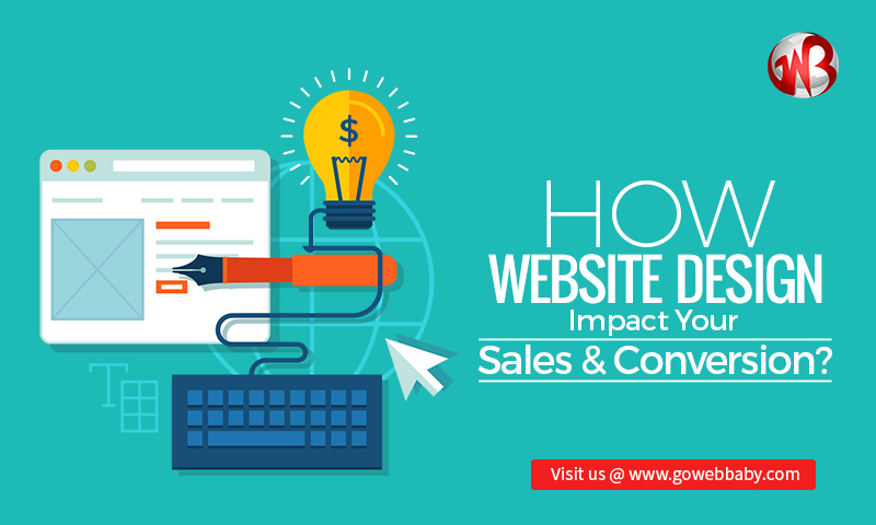 How website design impact your sales & conversion