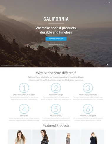 California Shopify Theme