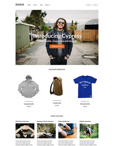 Cypress Shopify Theme