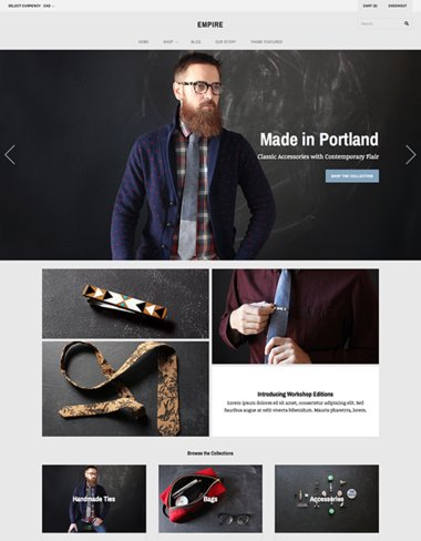 Grid Shopify Theme