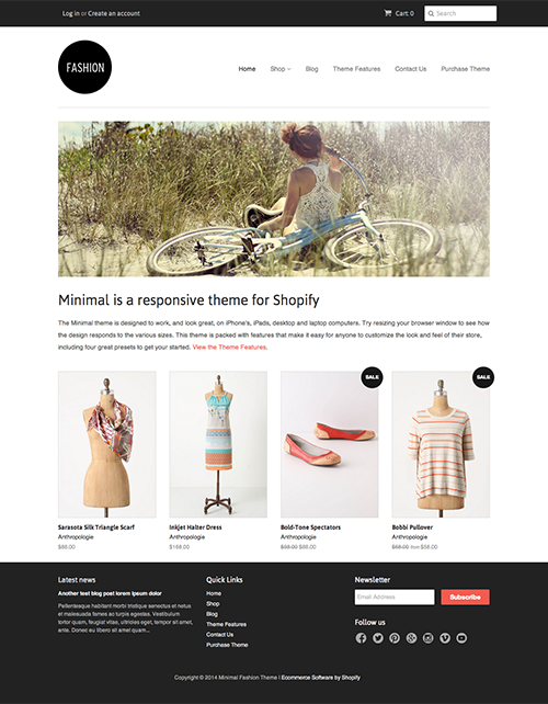 Top 50 Shopify Themes For Your Ecommerce Store Gowebbaby Com
