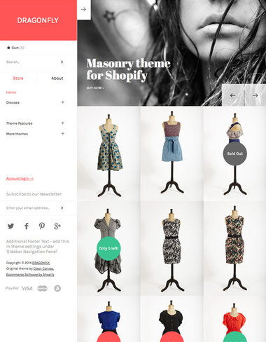 Masonry Shopify Theme