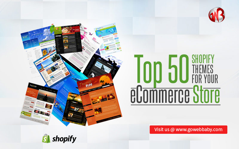 Top 50 Shopify Themes for your eCommerce Store