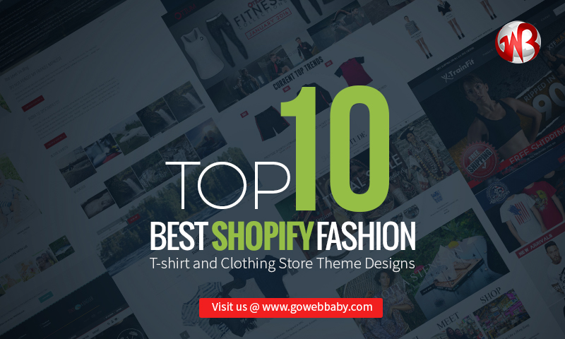 Top 10 Best Shopify Fashion T Shirt And Clothing Store Theme