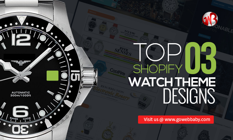 Top Shopify Watch Theme Designs