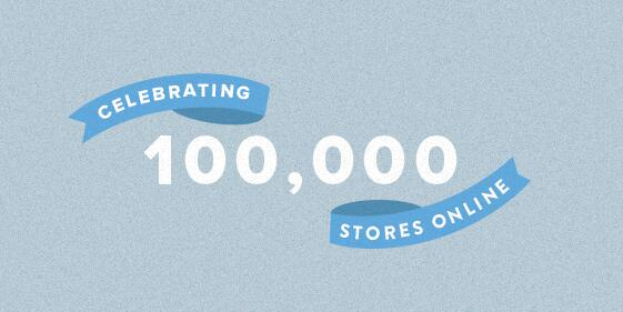 100,000 Stores are Now Using Shopify