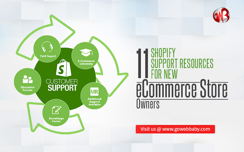 Shopify support resources for new ecommerce owners