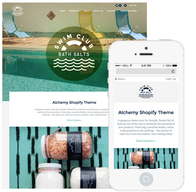 Alchemy Shopify Premium Template
