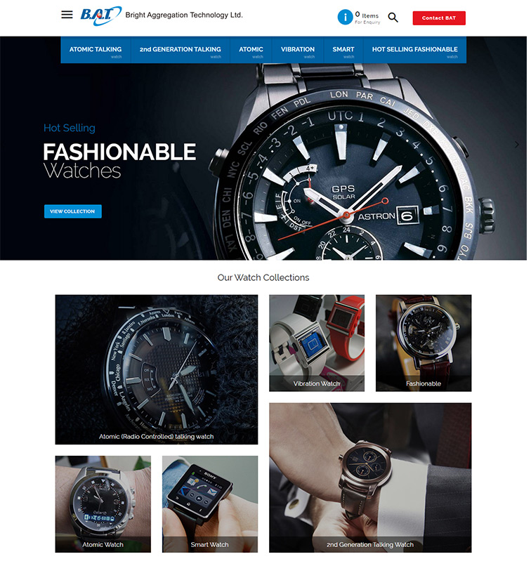 Best ECommerce Stores Built On Shopify GoWebBabyCom - Free invoice models best online watch store