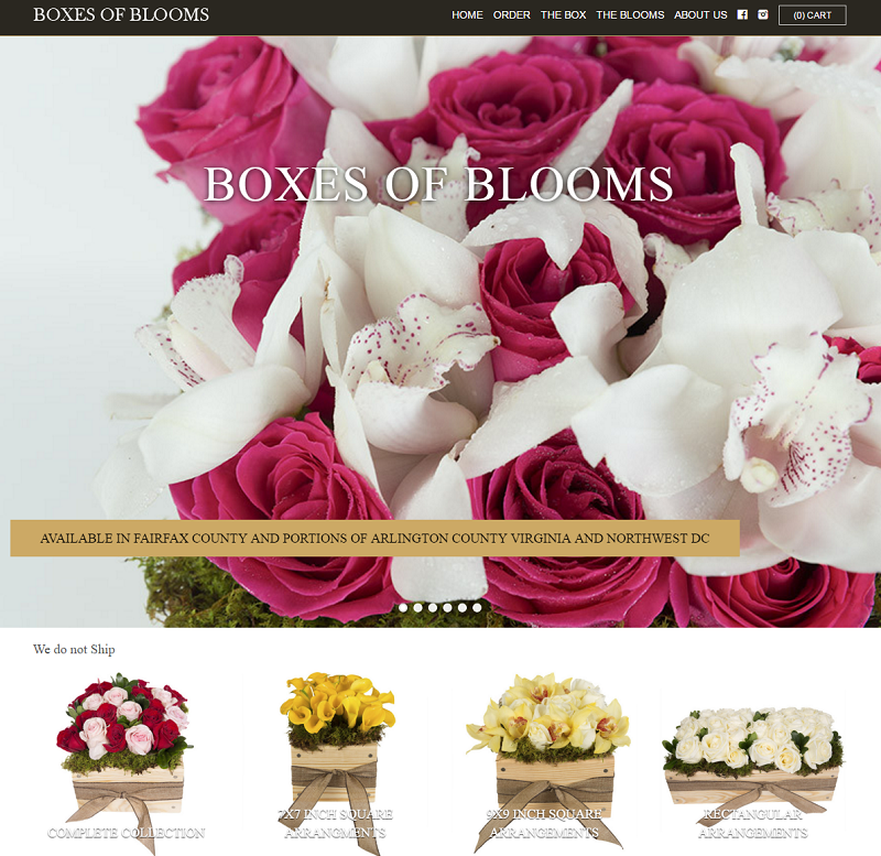 Boxes of Blooms