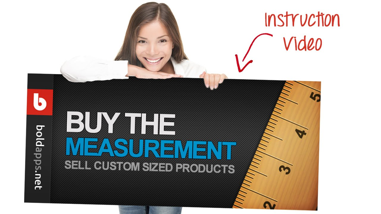 Buy the Measurement Shopify Bold App