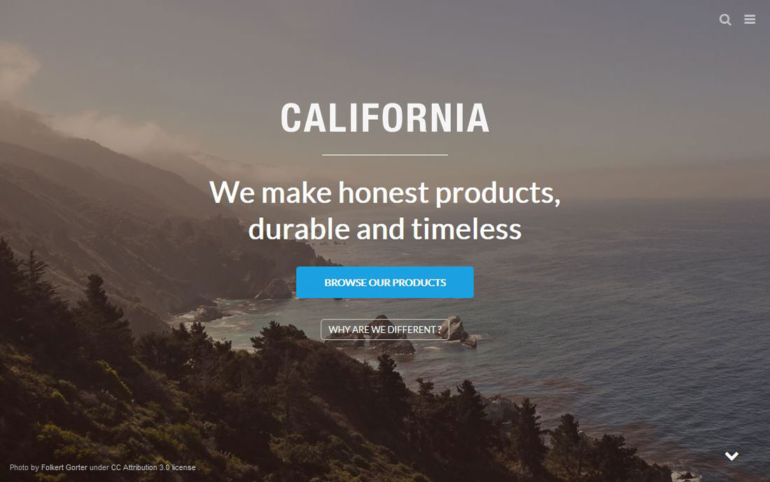 California Shopify Premium Template