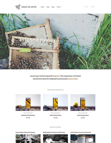Cypress Shopify Premium Template