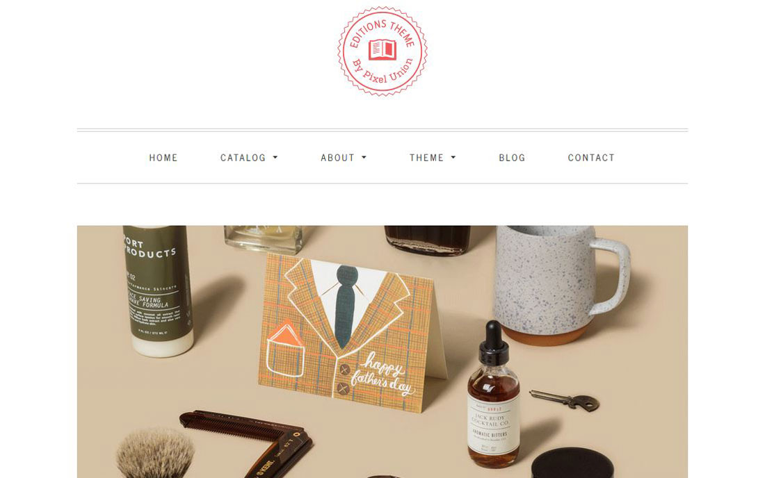 Editions Shopify Premium Template