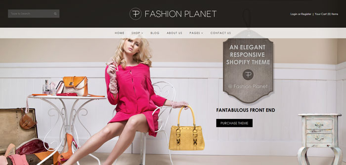Fashion planet Shopify Premium Template