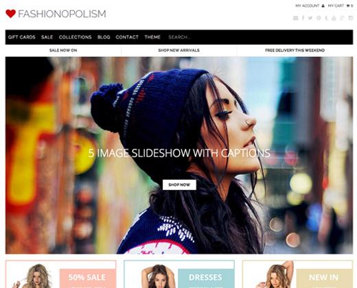 Fashionopolism Shopify Premium Template
