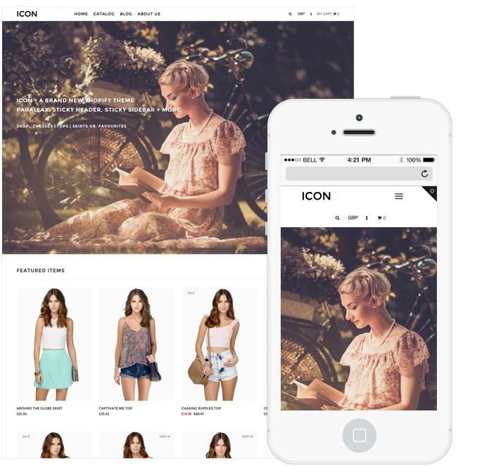 Icon Shopify Premium Template